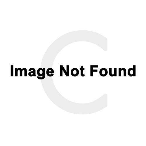 Ribbons Solitaire Diamond Stud Earrings