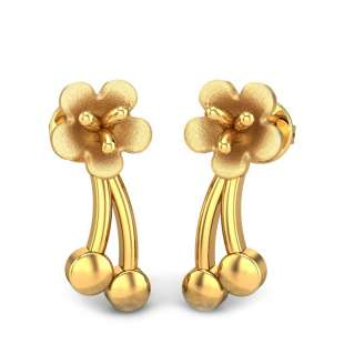 Clementine Gold Earring