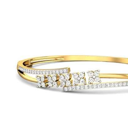 Aliya Diamond Bangle