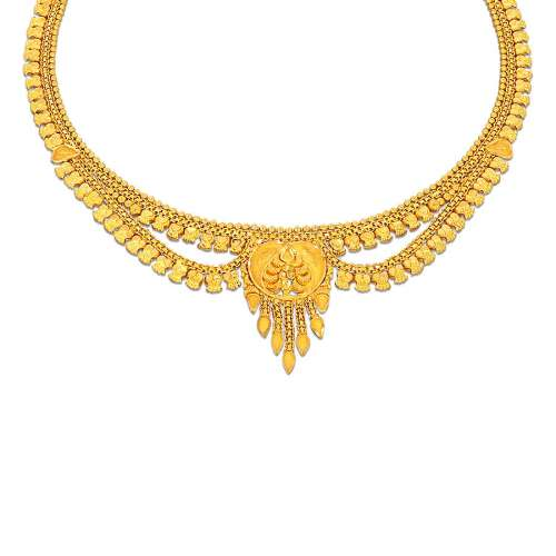 Subha Kyra Gold Necklace
